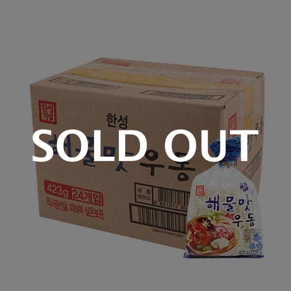 한성 해물우동423g(24개)이식사