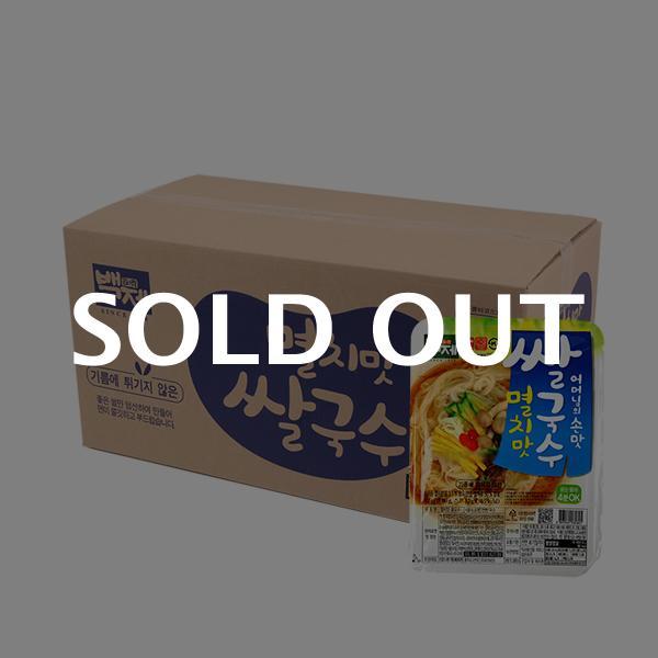 백제 멸치맛 쌀국수 92g 30입이식사