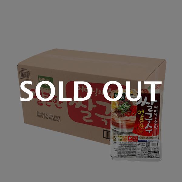 백제 얼큰한 쌀국수90g(30개)이식사