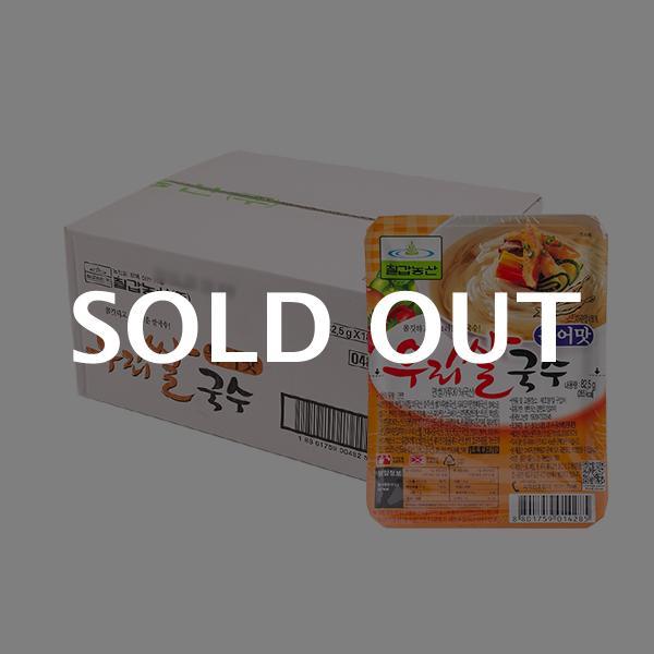 칠갑 우리쌀국수 북어맛 82.5g 18입이식사