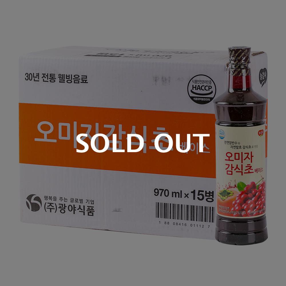 광야 오미자감식초골드1050ml(15개)이식사