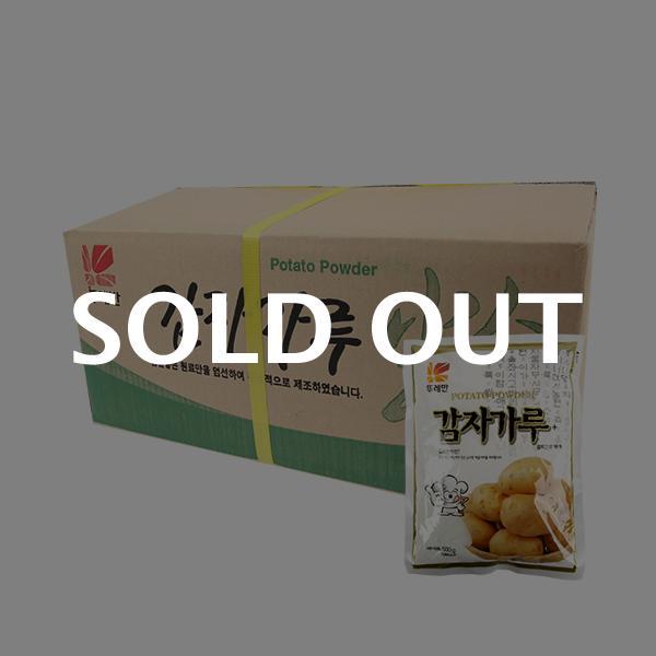 뚜레반 감자가루500g(20개)이식사