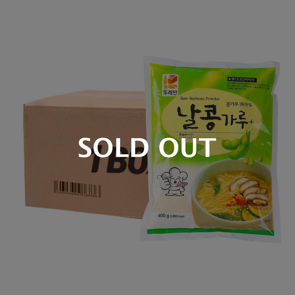 뚜레반 날콩가루400g(20개)이식사