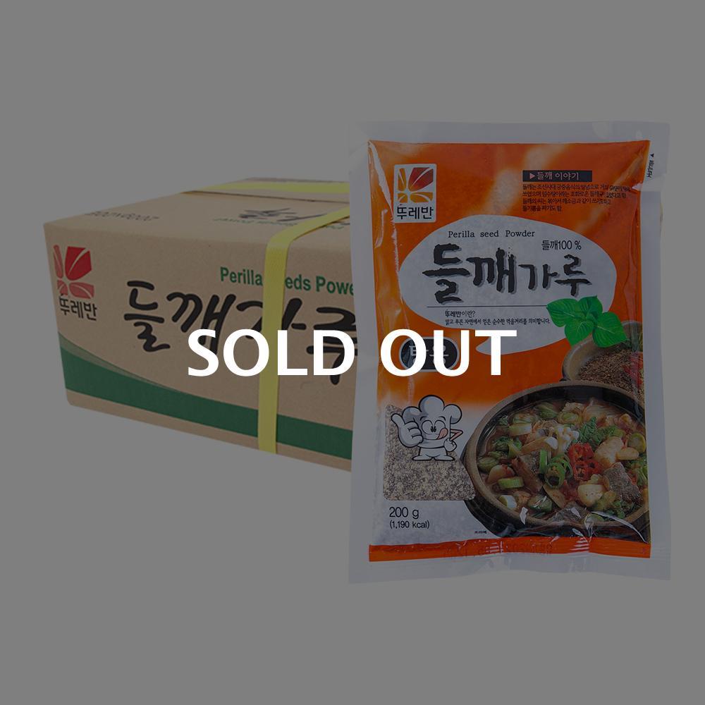 뚜레반 들깨가루(탕용)200g(20개)이식사