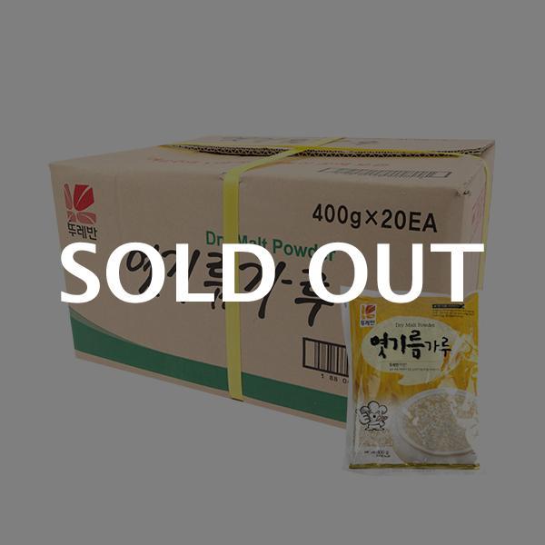 뚜레반 엿기름가루400g(20개)이식사