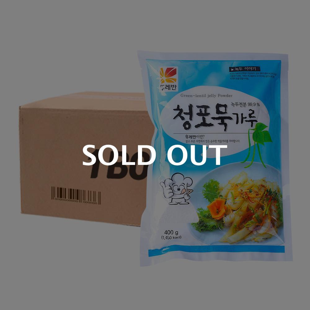 뚜레반 청포묵가루400g(20개)이식사