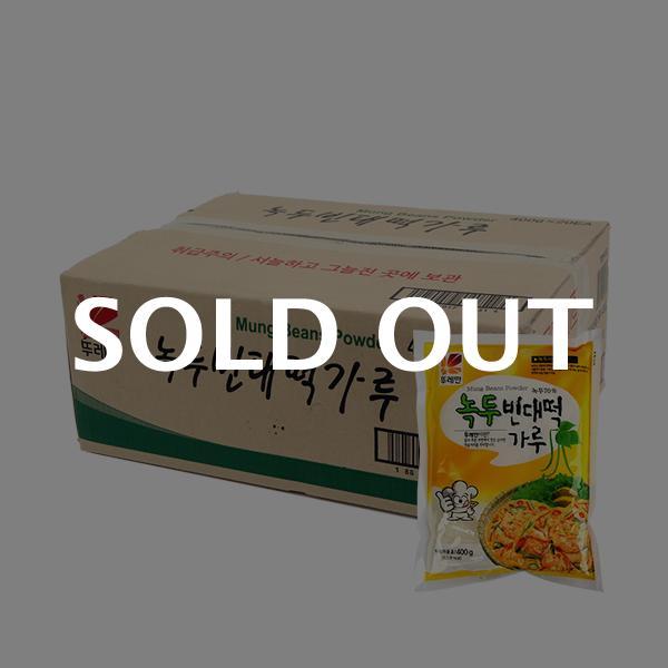 뚜레반 녹두빈대떡가루400g(20개)이식사