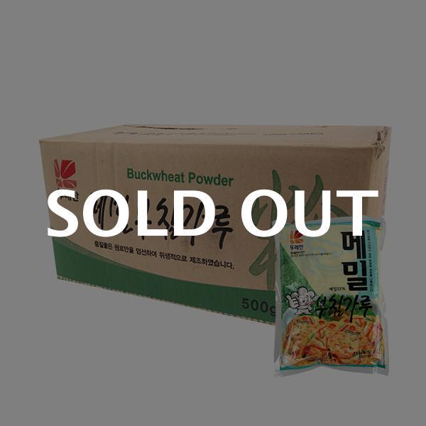 뚜레반 메밀부침가루500g(20개)이식사