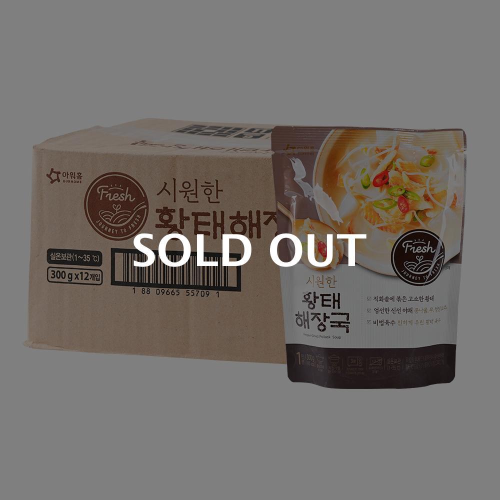 아워홈 황태해장국300g(12개)이식사
