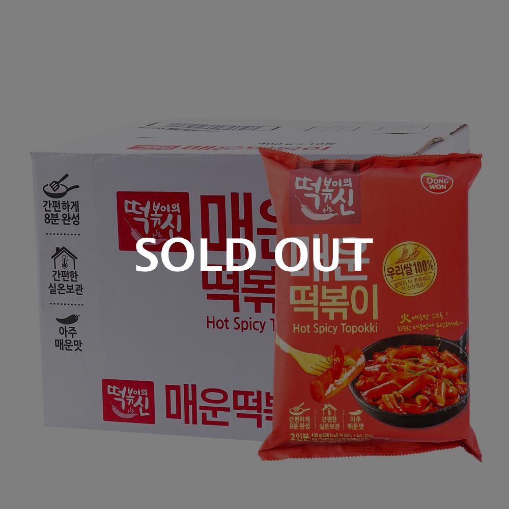 동원 매운떡볶이420g(10개) (박스)이식사