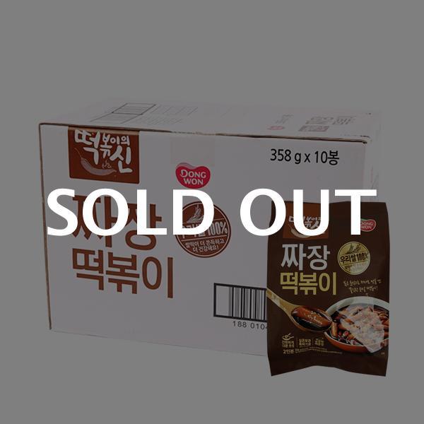 동원 짜장떡볶이358g(10개)이식사