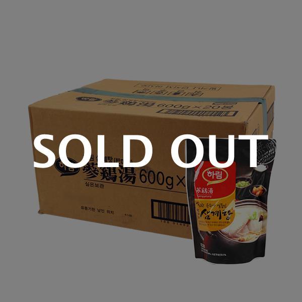 하림 삼계탕(반마리)600g(20개)이식사
