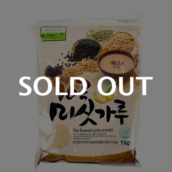 칠갑 10곡미숫가루1kg이식사