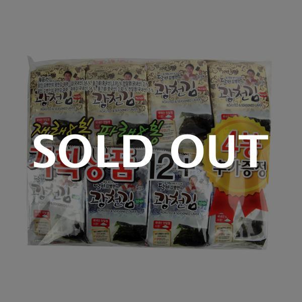 광천김 재래+파래4g 16봉이식사