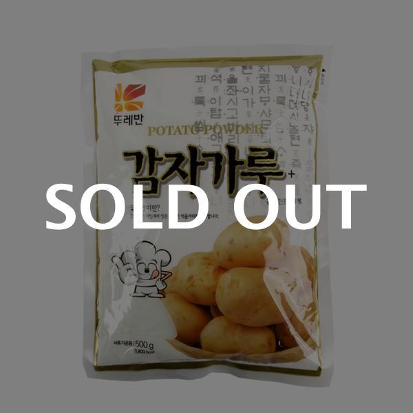 뚜레반 감자가루500g이식사