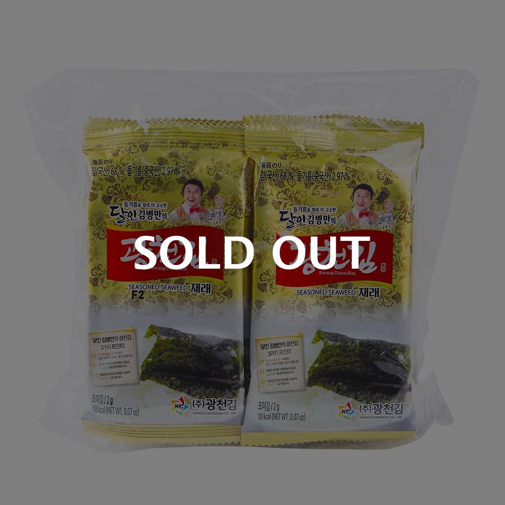 광천김 미니도시락2g 10봉이식사