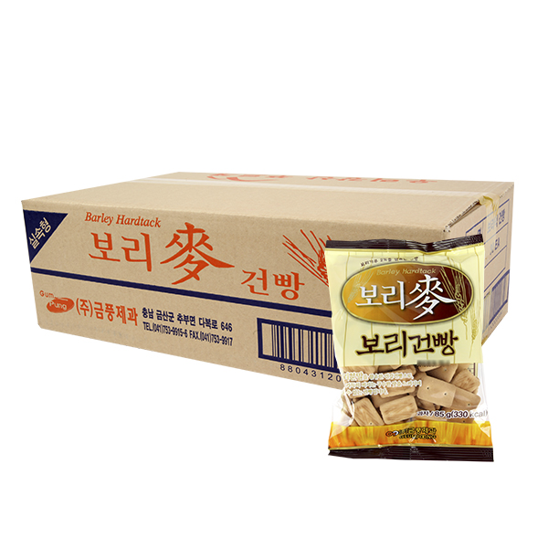 금풍제과 보리맥건빵 85g 30입