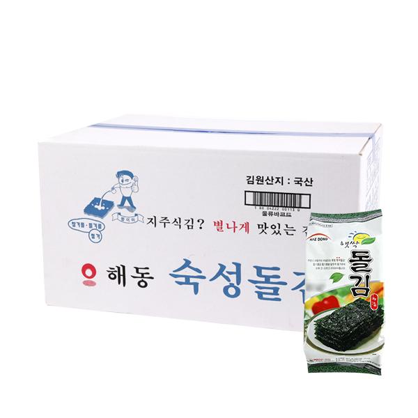 해동식품 햇싹돌김30g(24개)이식사