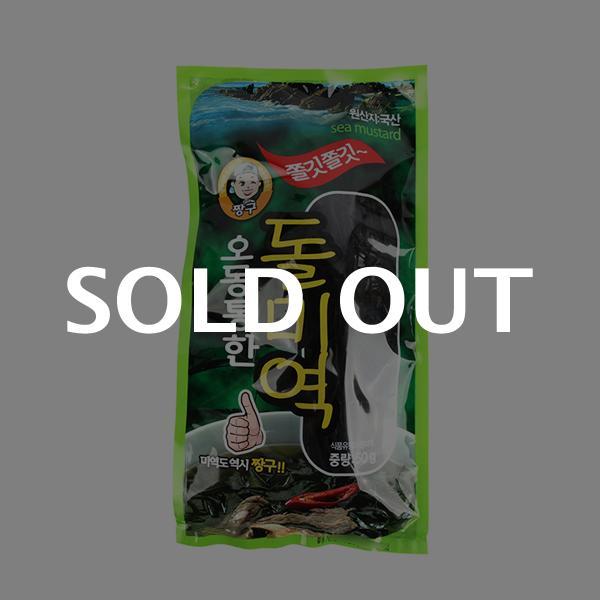 해동식품 오동통한 돌미역50g이식사