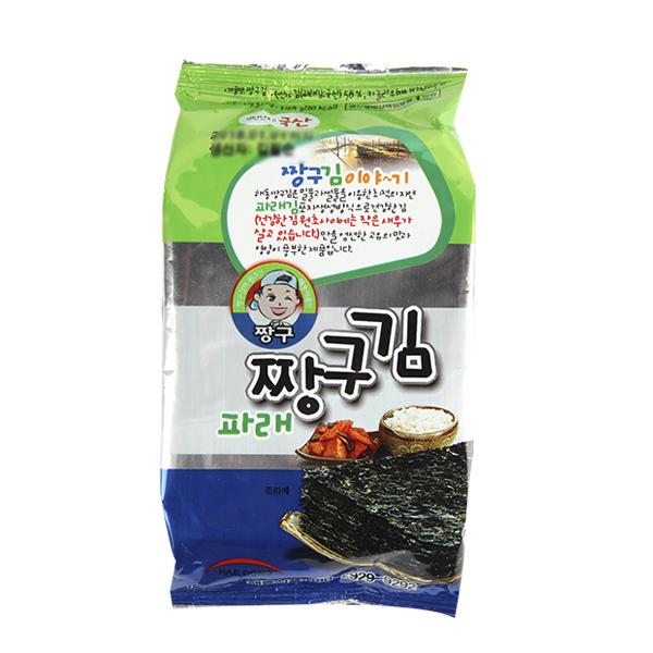 해동식품 파래 짱구4g이식사