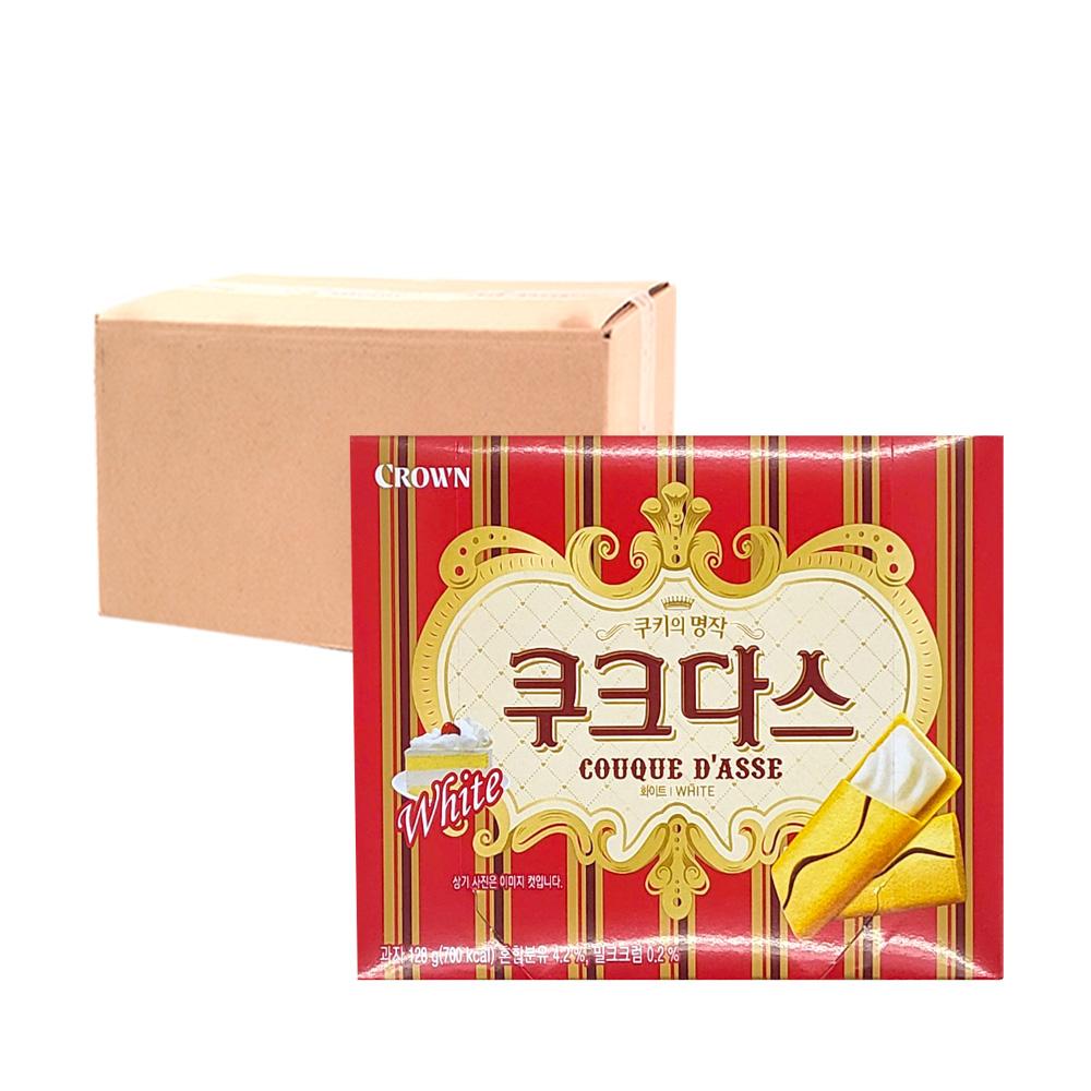 크라운 쿠크다스 화이트144g(20개)이식사