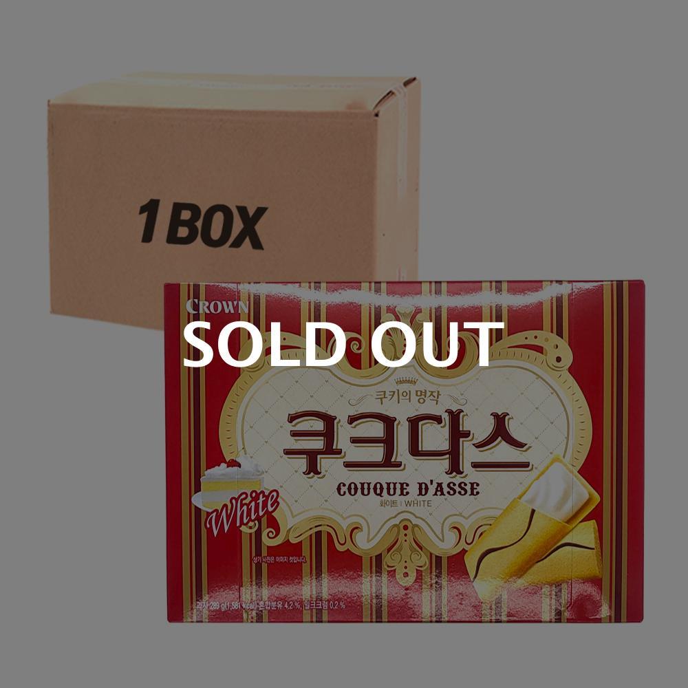 크라운 쿠크다스 화이트288g(10개)이식사