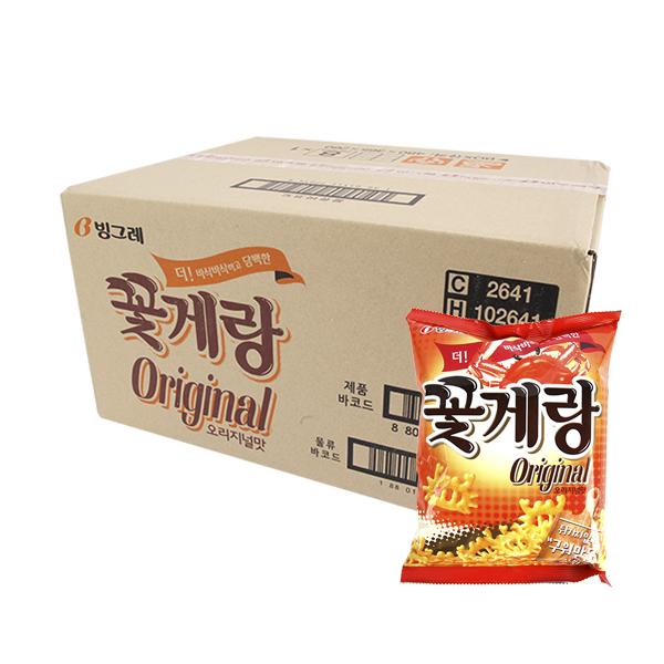 빙그레 꽃게랑70g(16개)이식사