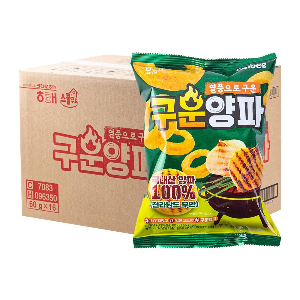 해태 구운양파70g(16개)이식사