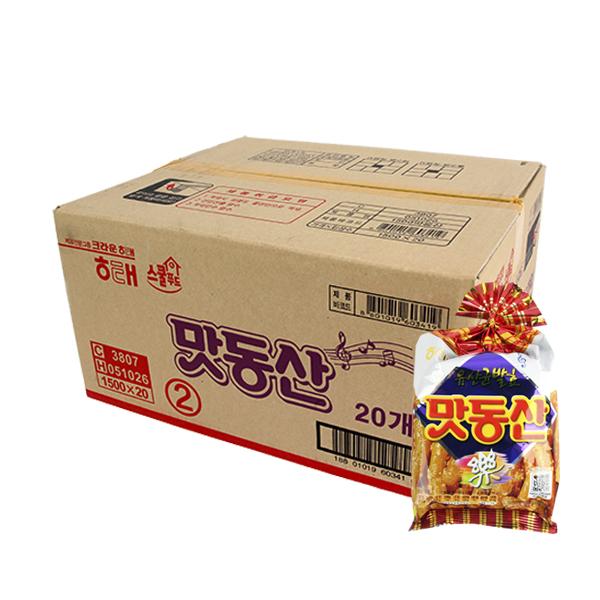 해태 맛동산90g(20개)이식사
