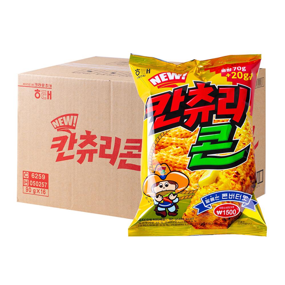 해태 칸츄리콘콘버터맛90g(16개)이식사