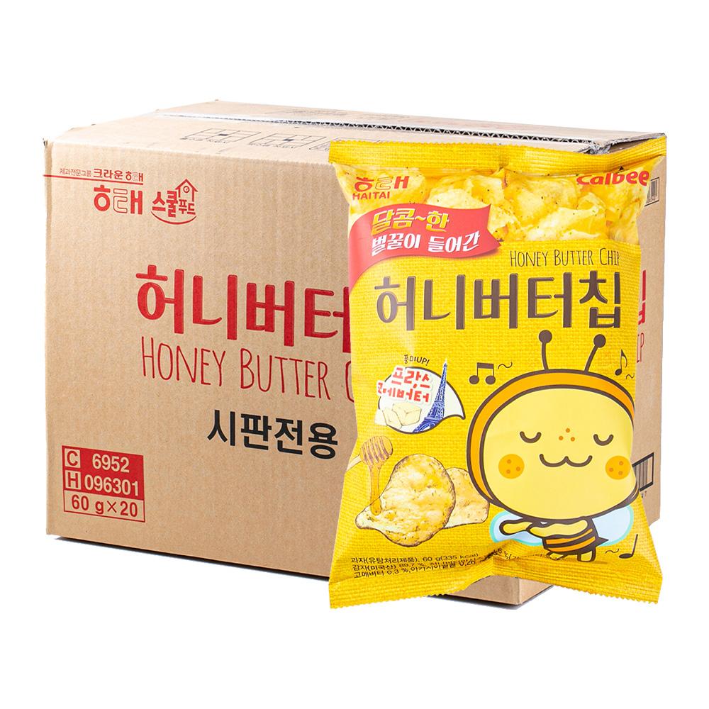 해태 허니버터칩60g(16개)이식사
