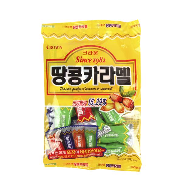 크라운 땅콩카라멜120g이식사