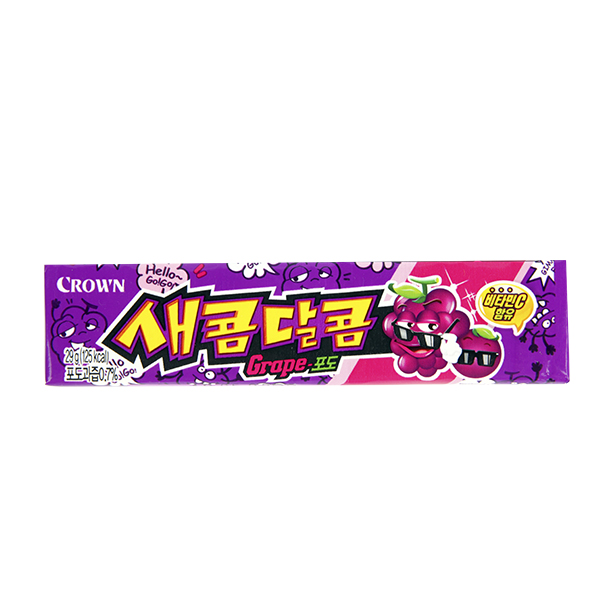 크라운 새콤달콤포도 29g이식사
