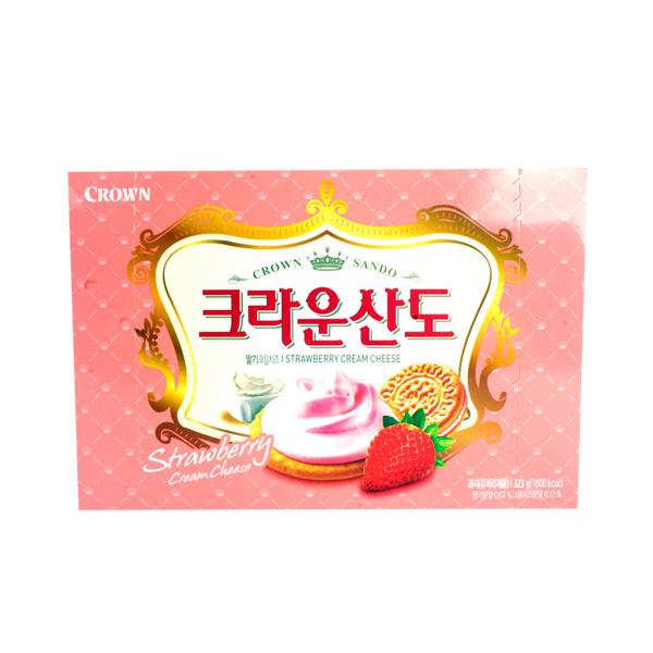 크라운 딸기크림치즈산도323g이식사