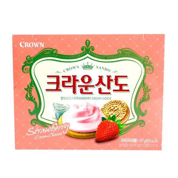 크라운 딸기크림치즈산도161g이식사