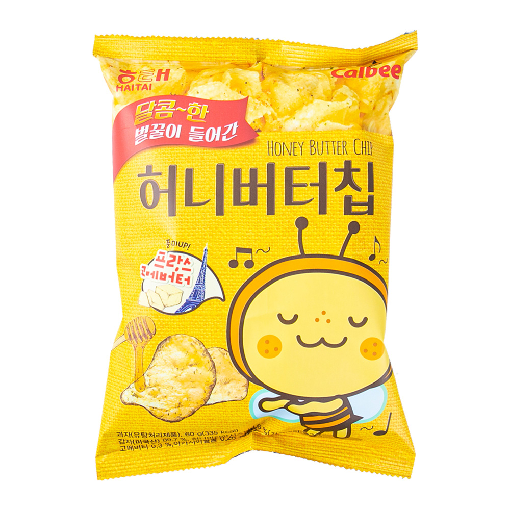 해태 허니버터칩60g이식사