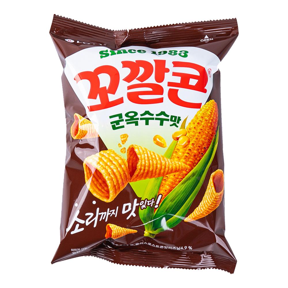 롯데 꼬깔콘 군옥수수77g이식사