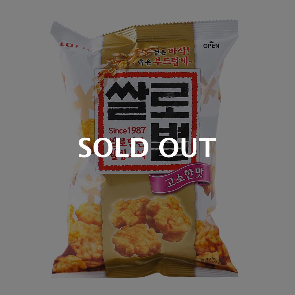 롯데 쌀로별오리지널156g이식사