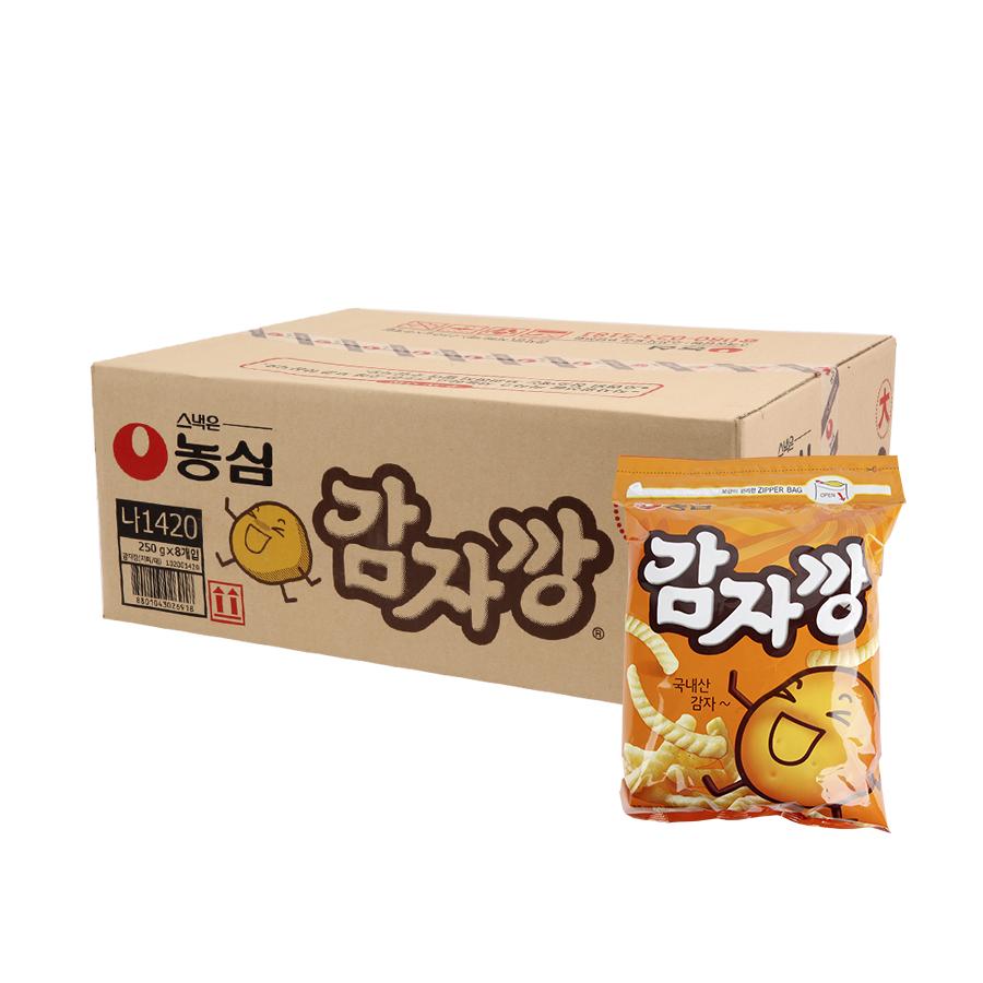 농심 감자깡250g(8개)이식사