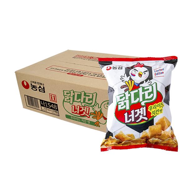 농심 닭다리너겟130g(12개)이식사