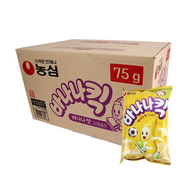 농심 바나나킥75g(20개)이식사