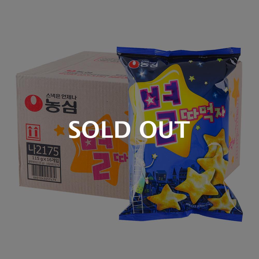 농심 별따먹자100g(16개)이식사