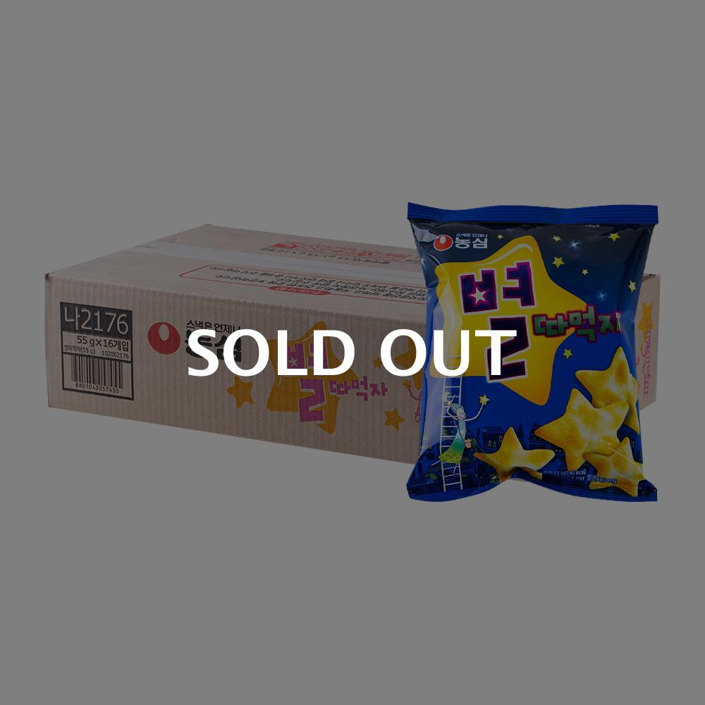 농심 별따먹자62g(16개)이식사