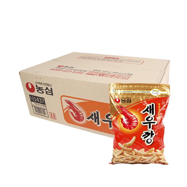 농심 새우깡400g(6개)이식사