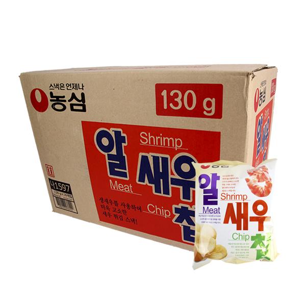 농심 알새우칩130g(16개)이식사