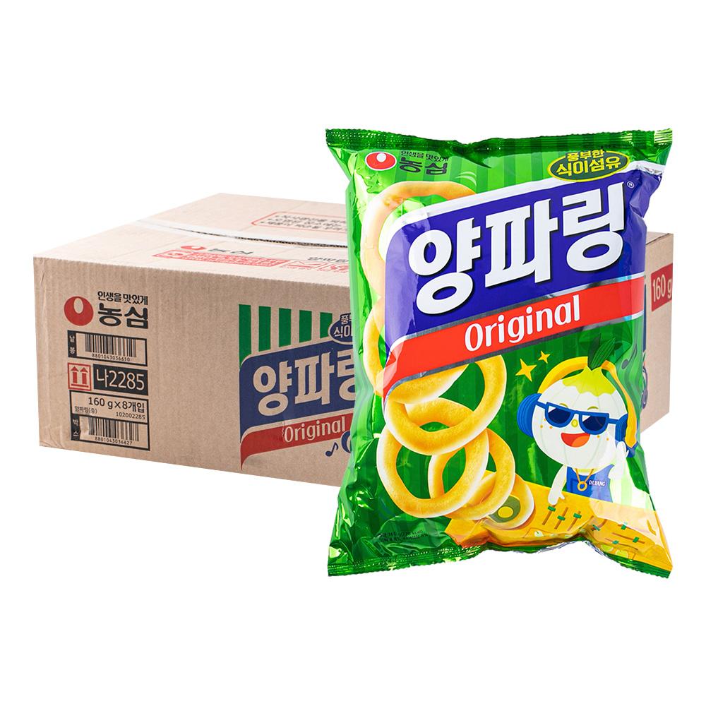 농심 양파링155g(8개)이식사