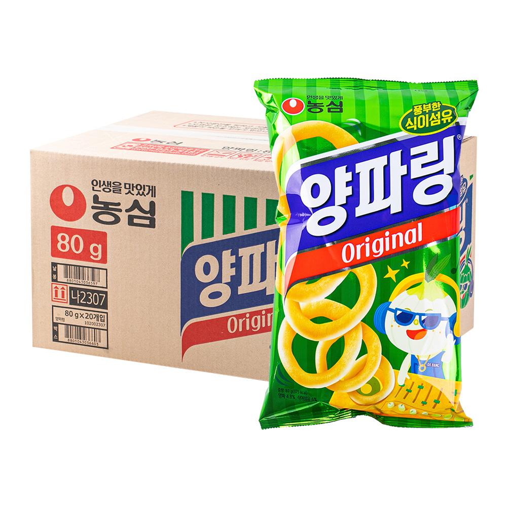 농심 양파링84g(20개)이식사