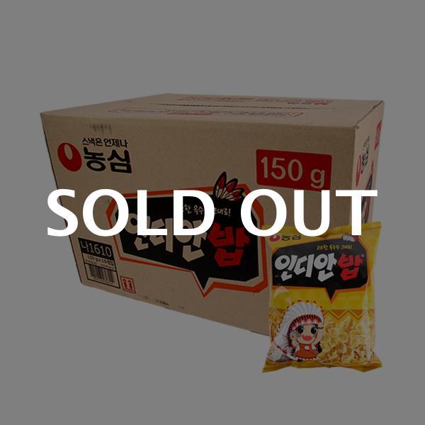 농심 인디안밥150g(16개)이식사