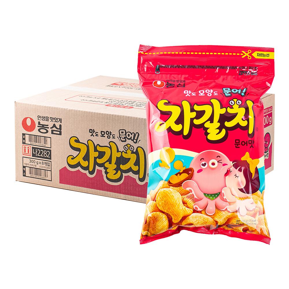 농심 자갈치286g(8개)이식사