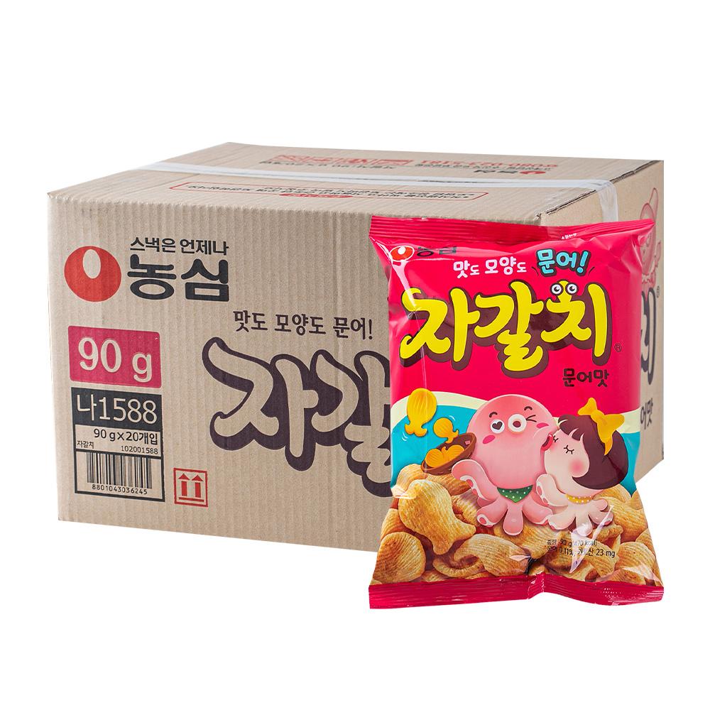 농심 자갈치90g(20개)이식사